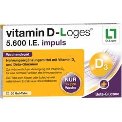 VITAMIN D LOGES 5600IE IMP